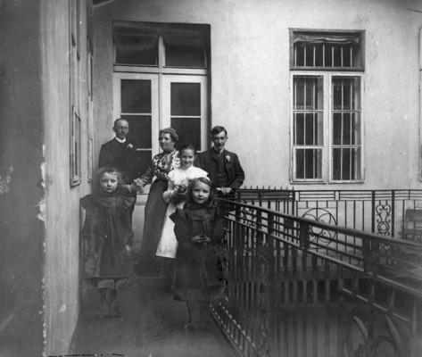 Váci utcai bérház 1910 fortepan