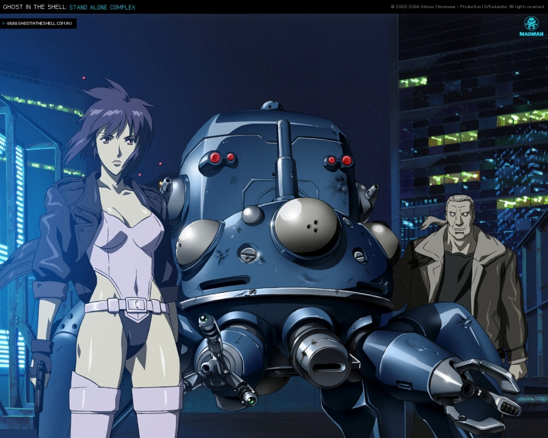 Ghost in the Shell: Stand Alone Complex (TV) (2002-2003)
