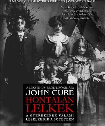 John Cure: Hontalan lelkek (2016-os borító)